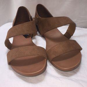 4d6d3dfb5 torrid Shoes | Cognac Strappy Cutout Sandal Wide Widthb4 | Poshmark